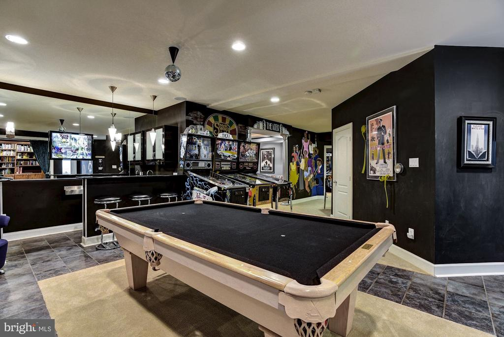 Plenty of Space for Pool Table (Negotiable) - 11096 WHITSTONE PL, RESTON