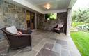 Private patio off of recreation room - 3606 N VERNON ST, ARLINGTON