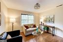 Living Room - 802 S ARLINGTON MILL DR #301, ARLINGTON