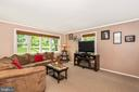 Living Room - 16808 POWELL RD, SHARPSBURG