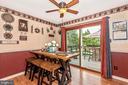 Dining Area/Kitchen - 16808 POWELL RD, SHARPSBURG