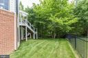 Side Yard - 43230 PARKERS RIDGE DR, LEESBURG