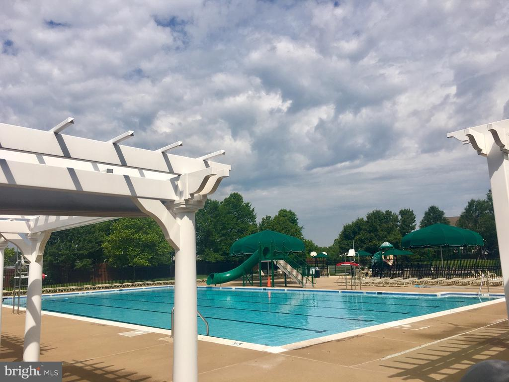 Wonderful, refreshing community pool - 21344 SAWYER SQ, ASHBURN