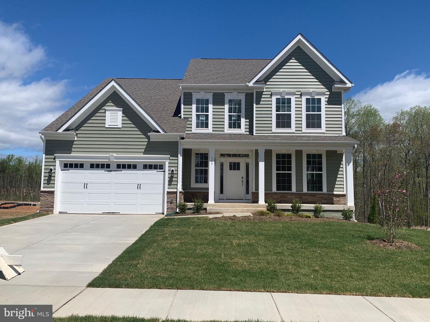 Single Family for Sale at 115 Old Oaks Ct Stafford, Virginia 22554 United States