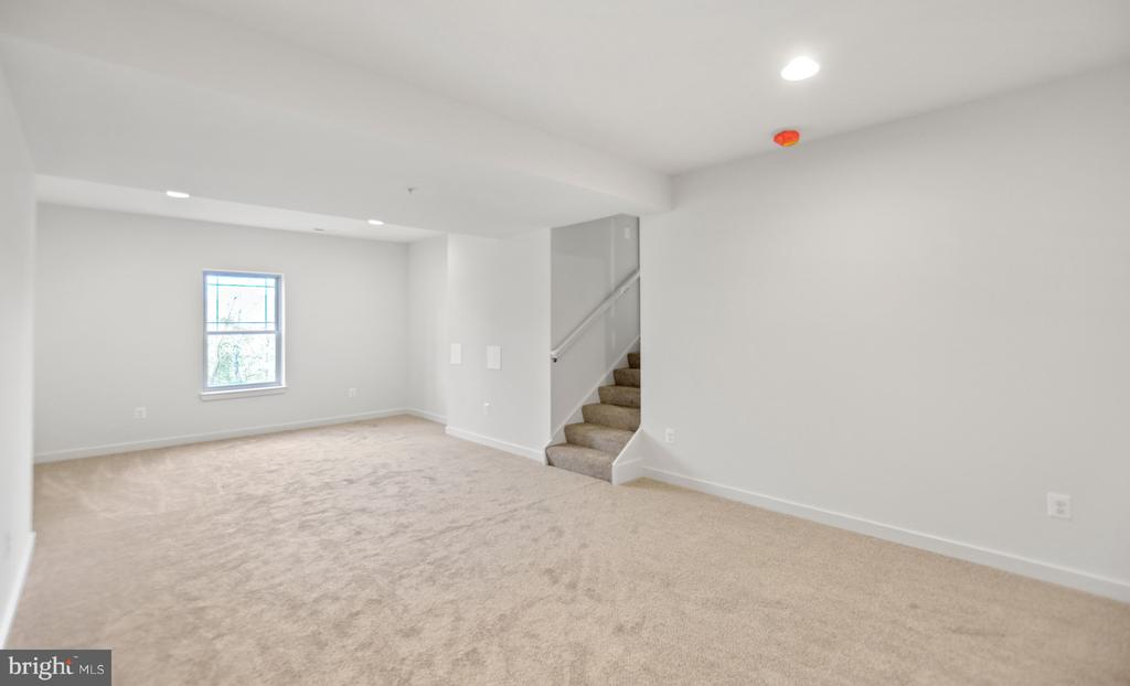 Basement bedroom or extra space. - 6442 LAKERIDGE DR, NEW MARKET
