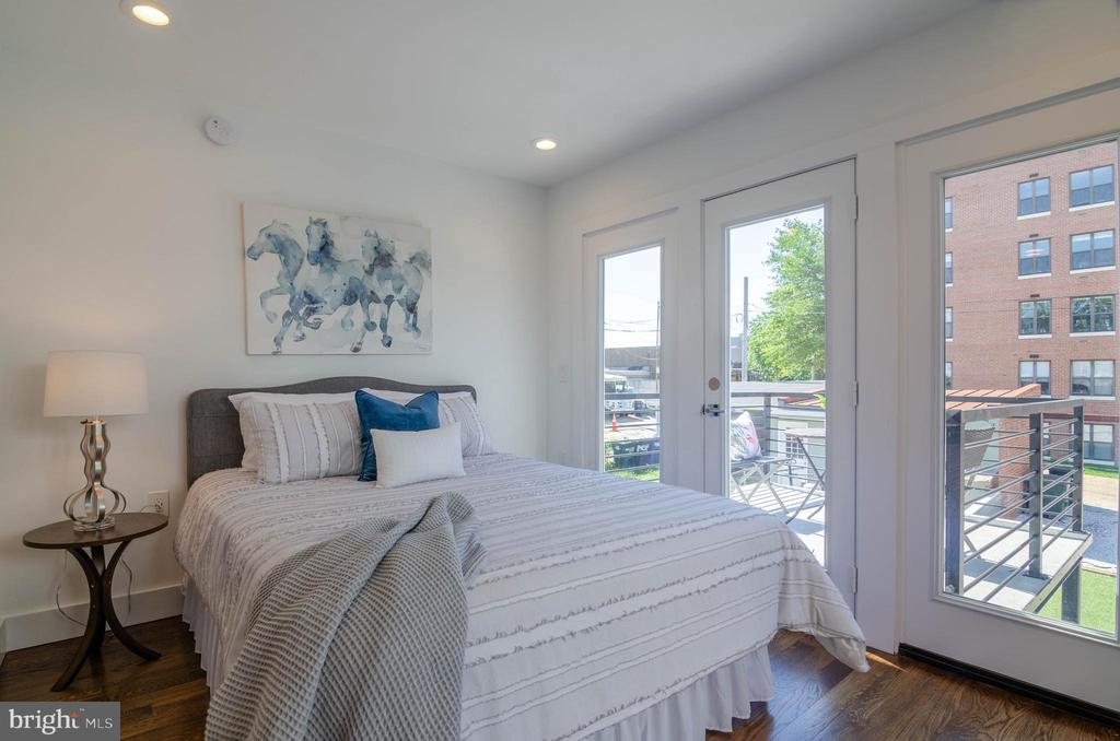 A main level master/roommate/guest suite - 1412 SHEPHERD ST NW #2, WASHINGTON