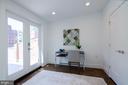 A study/nursery/meditation room - you decide! - 1412 SHEPHERD ST NW #2, WASHINGTON