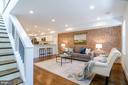 Dramatic open 2 level home - 1412 SHEPHERD ST NW #2, WASHINGTON