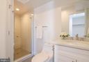 Full bath on main level! - 1412 SHEPHERD ST NW #2, WASHINGTON