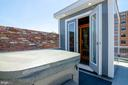 Seriously a private roof deck - hot tub & sauna! - 1412 SHEPHERD ST NW #2, WASHINGTON