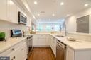 A multi-cook kitchen! - 1412 SHEPHERD ST NW #2, WASHINGTON