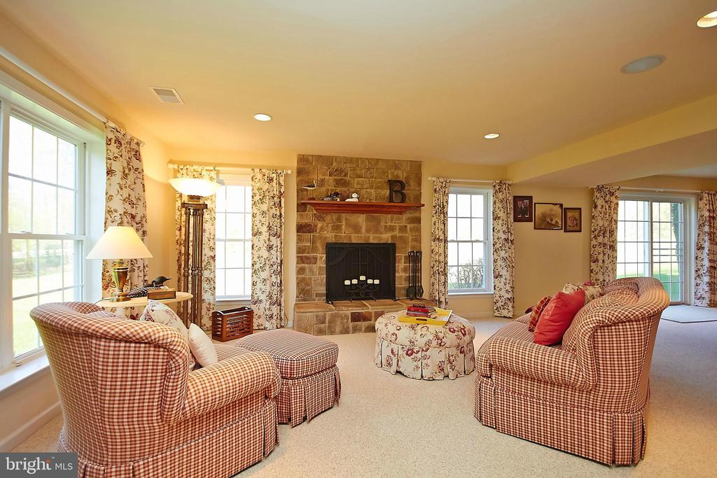 Wood burning fireplace - 32315 DEEP MEADOW LN, LOCUST GROVE