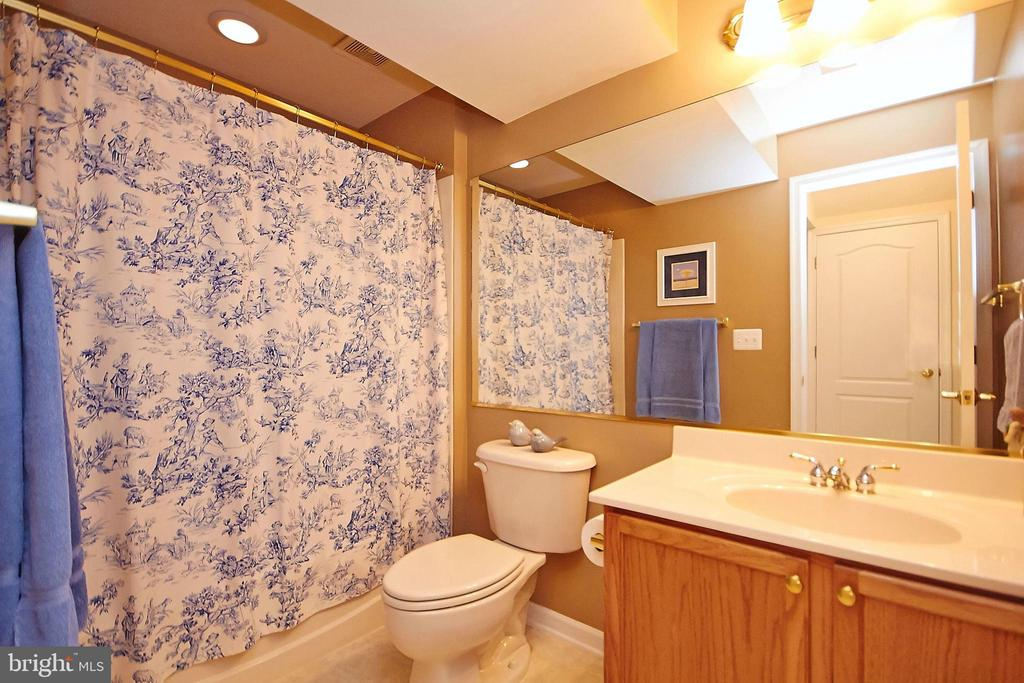 Full bathroom in basement - 32315 DEEP MEADOW LN, LOCUST GROVE