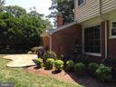 Backyard - 8104 LANGBROOK RD, SPRINGFIELD
