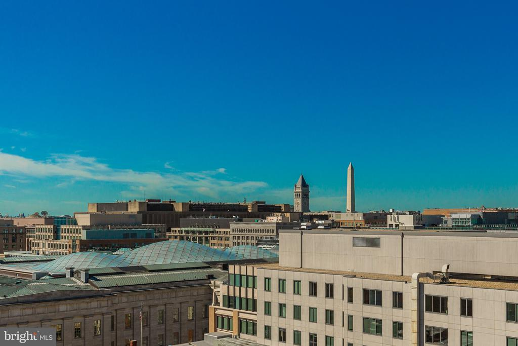 Monument Views! Fireworks from the balcony! - 777 7TH ST NW #1124, WASHINGTON