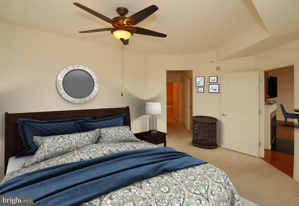 Eye catching tray ceiling - 1830 FOUNTAIN DR #1001, RESTON