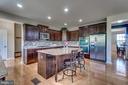Kitchen with granite counters - 8 BRADBURY WAY, STAFFORD