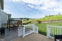 Deck walks down to yard and patio - 8 BRADBURY WAY, STAFFORD