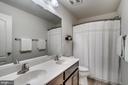Upper hall bath with dual sinks - 8 BRADBURY WAY, STAFFORD