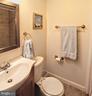 Guest bedroom ensuite bath - 100 JAMES DR SW, VIENNA