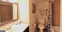 Lower level bath - 100 JAMES DR SW, VIENNA