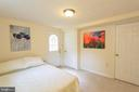 Fourth bedroom on lower level - 100 JAMES DR SW, VIENNA