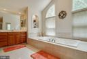Master Bathroom - 3465 LOGSTONE DR, TRIANGLE