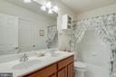 Full Bath on Second Level - 3465 LOGSTONE DR, TRIANGLE