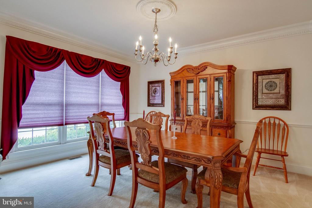 Formal Dining Room - 3465 LOGSTONE DR, TRIANGLE