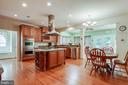 Eat-In Kitchen - 3465 LOGSTONE DR, TRIANGLE