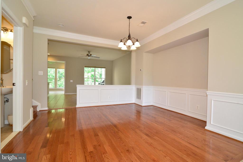 Formal Dining Room with gleaming hardwood - 42752 KEILLER TER, ASHBURN