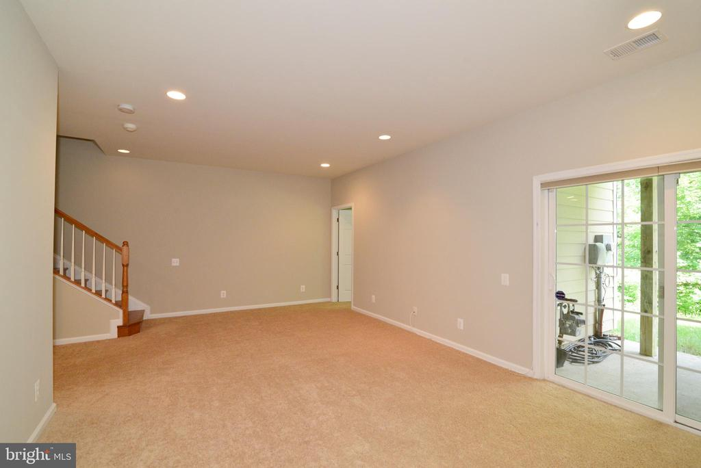 Lower level Recreational space with walk out - 42752 KEILLER TER, ASHBURN