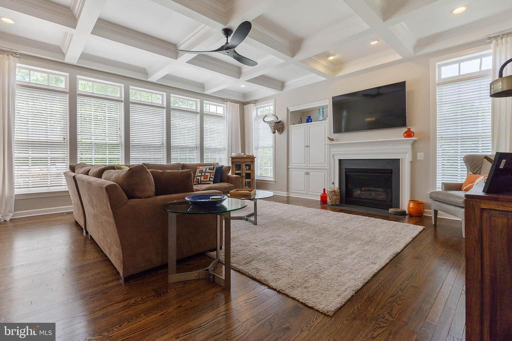 Spacious Family Room with Tons of Natural Light - 19448 MILL DAM PL, LEESBURG