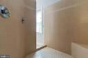 Master Bathroom Walk-in Shower - 19448 MILL DAM PL, LEESBURG