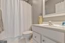 Full Bathroom in Bedroom 4 - 19448 MILL DAM PL, LEESBURG