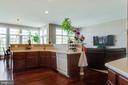 Open Gourmet Kitchen - 18605 KERILL RD, TRIANGLE