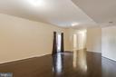 New wood laminate floors - 18605 KERILL RD, TRIANGLE