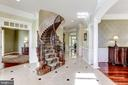 FOYER, CURVED STAIRCASE - 27651 EQUINE CT, CHANTILLY
