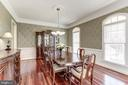 DINING ROOM - 27651 EQUINE CT, CHANTILLY