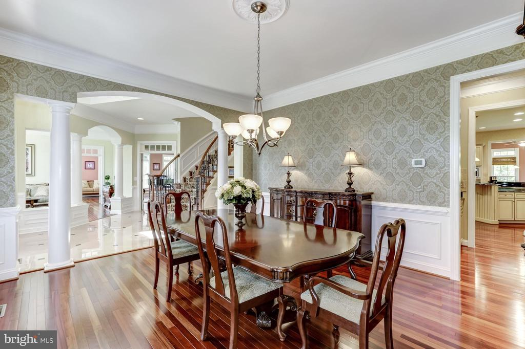 DINING ROOM, BUTLERS PANTRY - 27651 EQUINE CT, CHANTILLY
