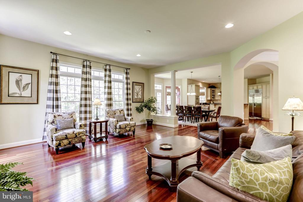 FAMILY ROOM - 27651 EQUINE CT, CHANTILLY