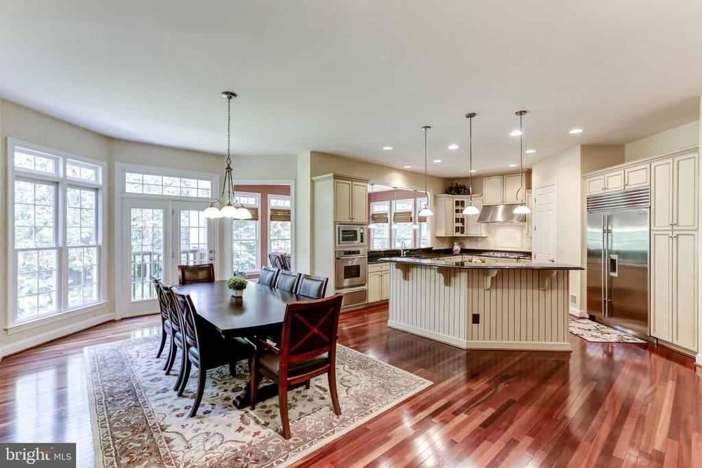 KITCHEN, MORNING & SUN ROOM - 27651 EQUINE CT, CHANTILLY
