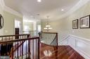 UPPER LANDING, WITH INFORMAL REAR STAIRCASE - 27651 EQUINE CT, CHANTILLY