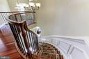 UPPER LEVEL, CURVED STAIRCASE - 27651 EQUINE CT, CHANTILLY