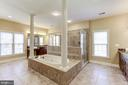 MASTER BATH: TWIN AMENITIES! - 27651 EQUINE CT, CHANTILLY