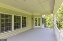 COVERED VERANDA, OFF MASTER SUITE - 27651 EQUINE CT, CHANTILLY