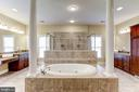 ROMAN SHOWER (DUAL ENTRY, HEADS) & JETTED TUB - 27651 EQUINE CT, CHANTILLY