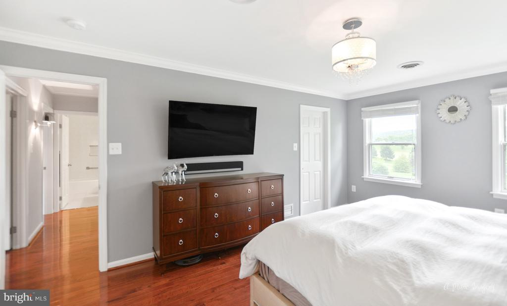 Master suite with walk-in closet - 7306 COVENTRY DR, MIDDLETOWN