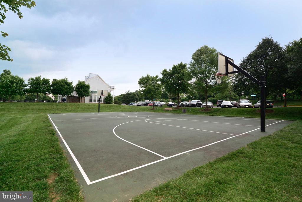 Basketball court - 21854 KINGS CROSSING TER, ASHBURN