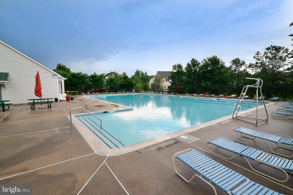 Community Pool with Clubhouse - 21854 KINGS CROSSING TER, ASHBURN